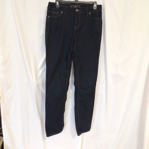 Cato Womens Straight Leg Jeans size 8